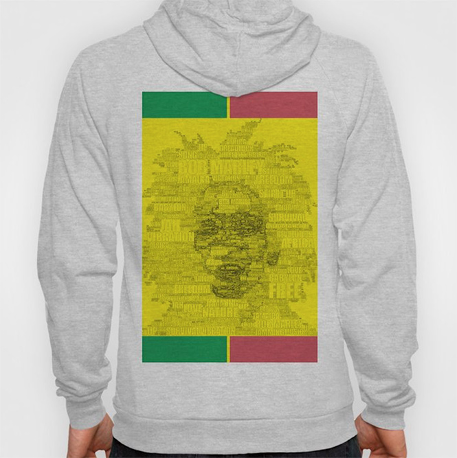 W. Reggae Hoody by angeldecuir | Society6