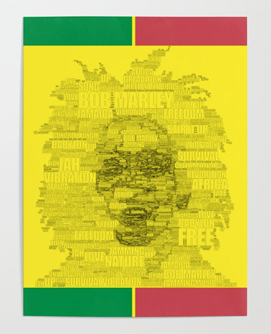 Reggae Poster by angeldecuir | Society6 http://bit.ly/2t8eHqd