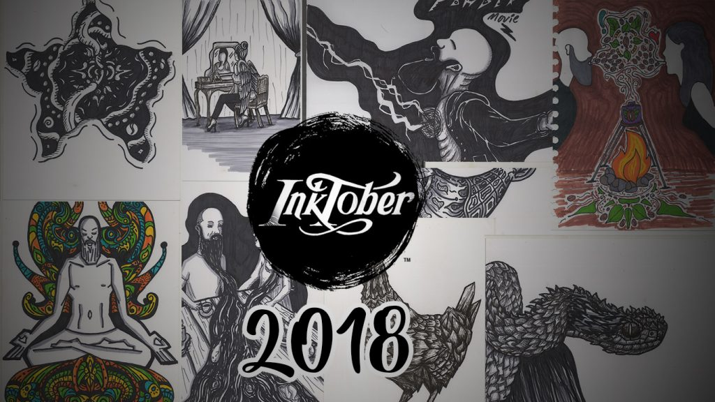 Mis ilustraciones del inktober 2018