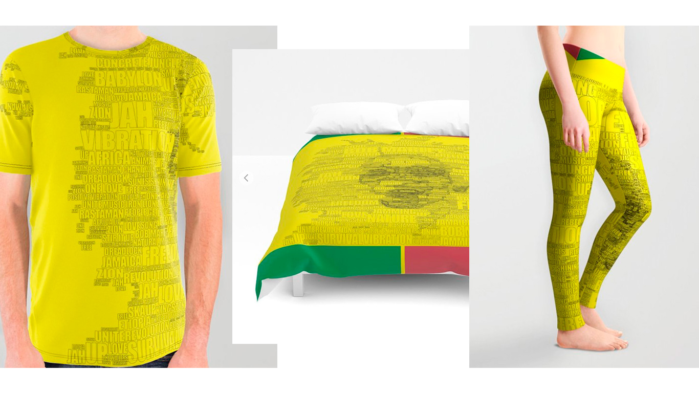 Words of Reggae by angeldecuir | Society6