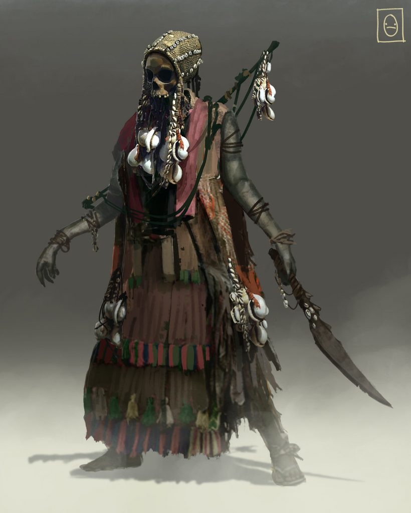 Pirate Skeleton Witch  - Ken Fairclough