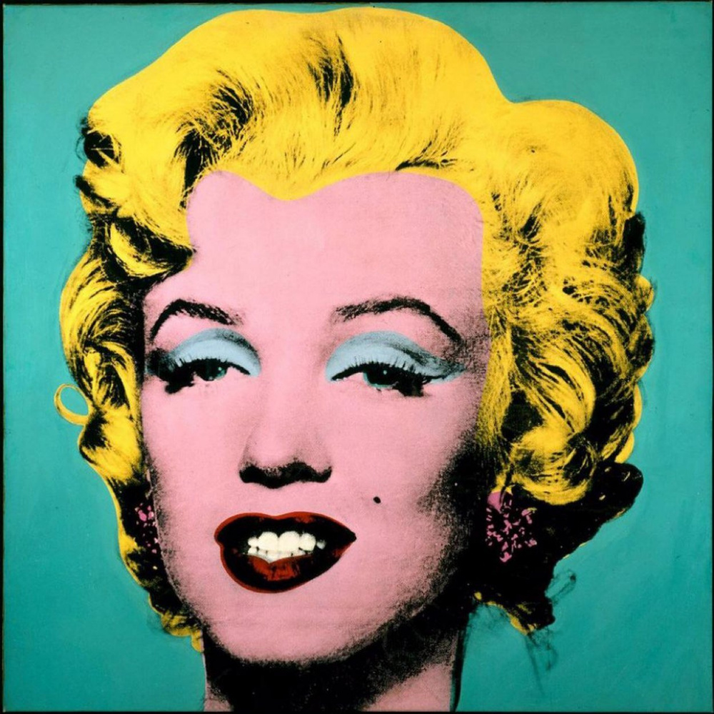 Andy Warhol TURQUOISE MARILYN - 1964