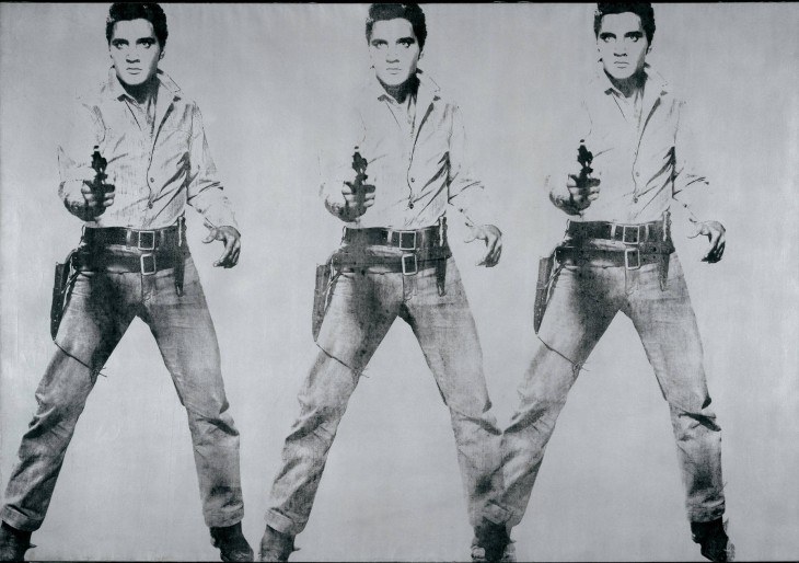 Andy Warhol Elvis 8 - 1963