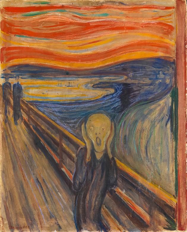 Edvard Munch El grito - 1895