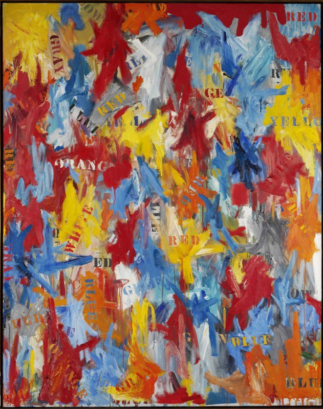 Jasper Johns FALSE START - 1959
