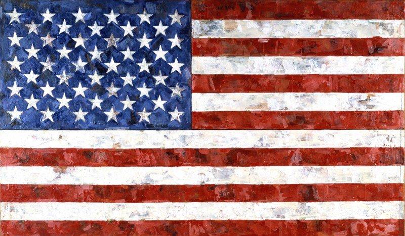 Jasper Johns Flag - 1958