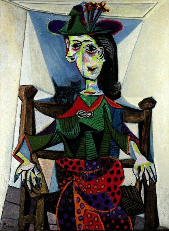 Pablo Picasso DORA MAAR AU CHAT - 1941