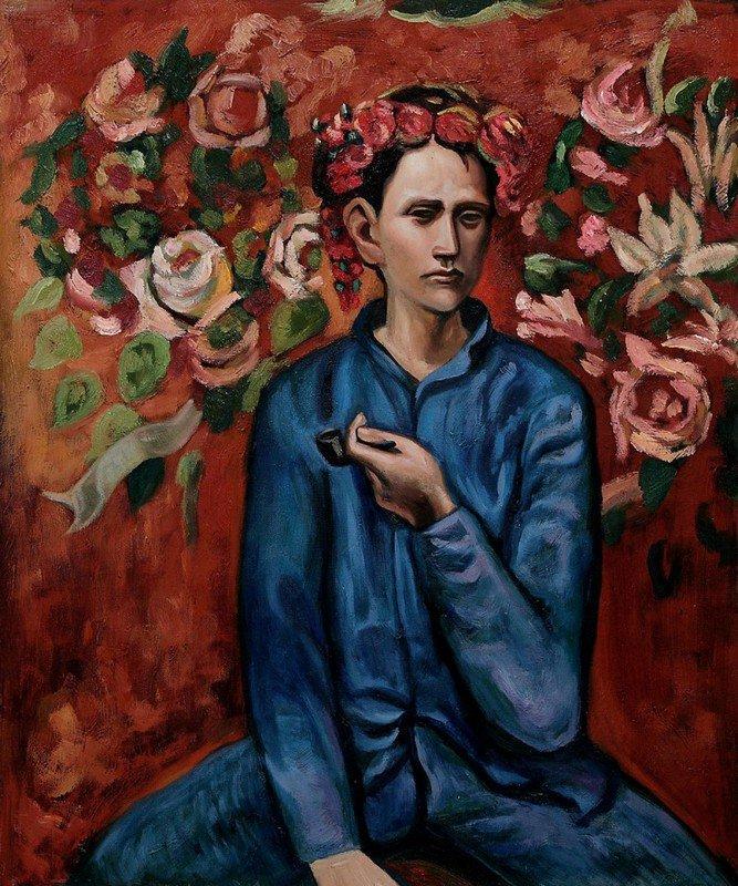 Pablo Picasso GARÇON À LA PIPE - 1905