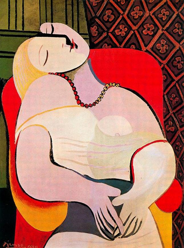 Pablo Picasso El sueño - 1932