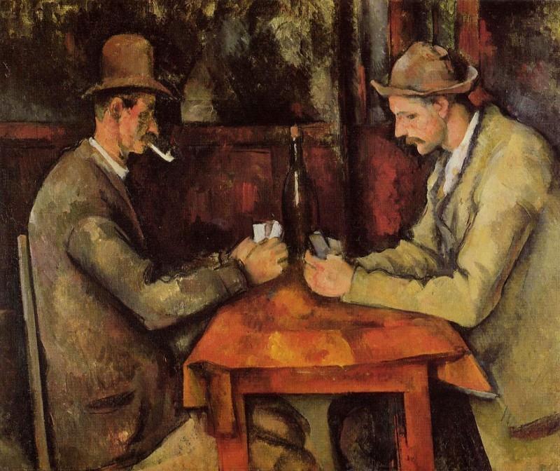 Paul Cézanne LES JOUEURS DE CARTES - 1895