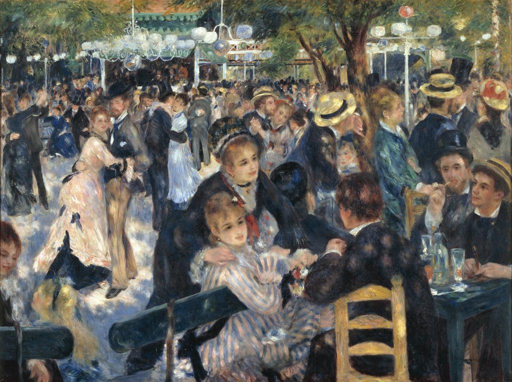 Renoir LE MOULIN DE LA GALETTE - 1876