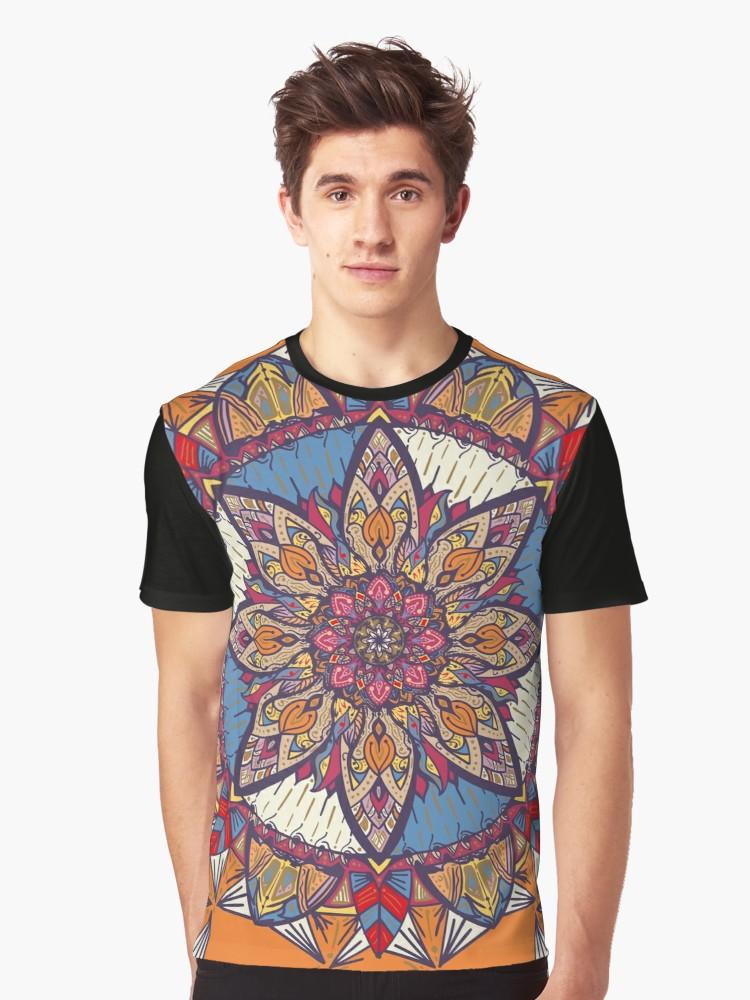Camisetas gráficas «Transformaciones» de angeldecuir | Redbubble - Mandala