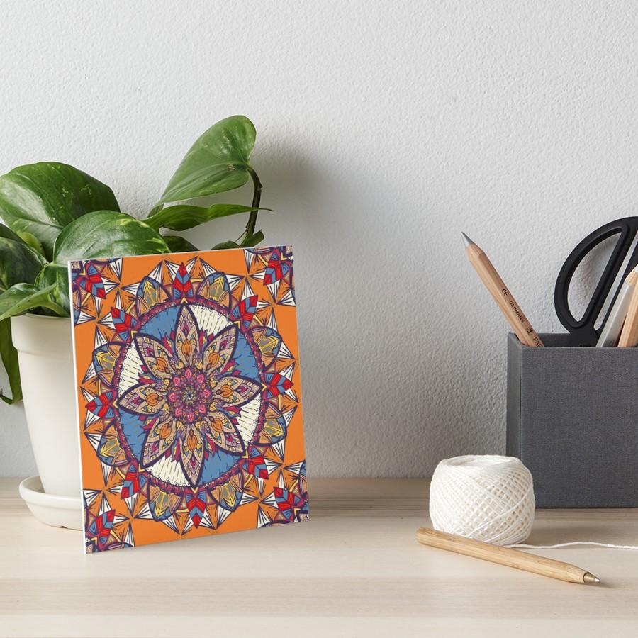 Láminas de exposición «Transformaciones» de angeldecuir | Redbubble - Mandala