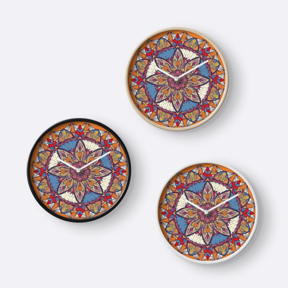 Relojes «Transformaciones» de angeldecuir | Redbubble - Mandala