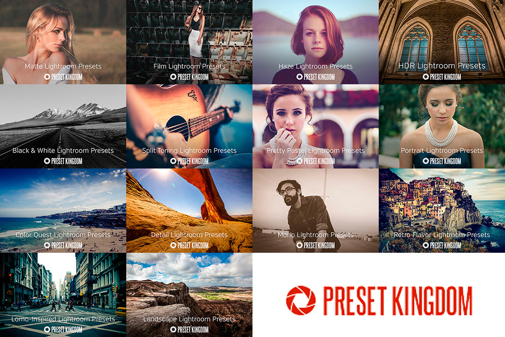 Bundle of 300 Professional #Lightroom Presets! - Preset Kingdom