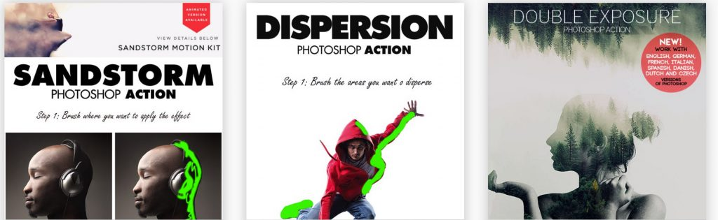 Photoshop Actions sorted by best sellers.