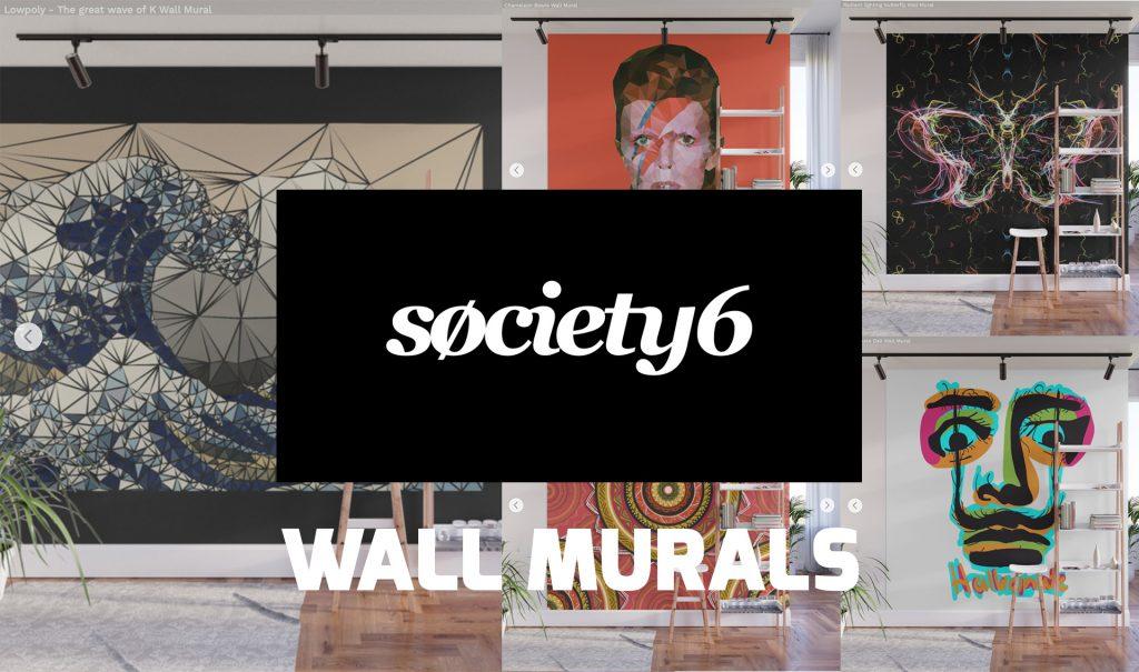 Wall Murals para society6 store