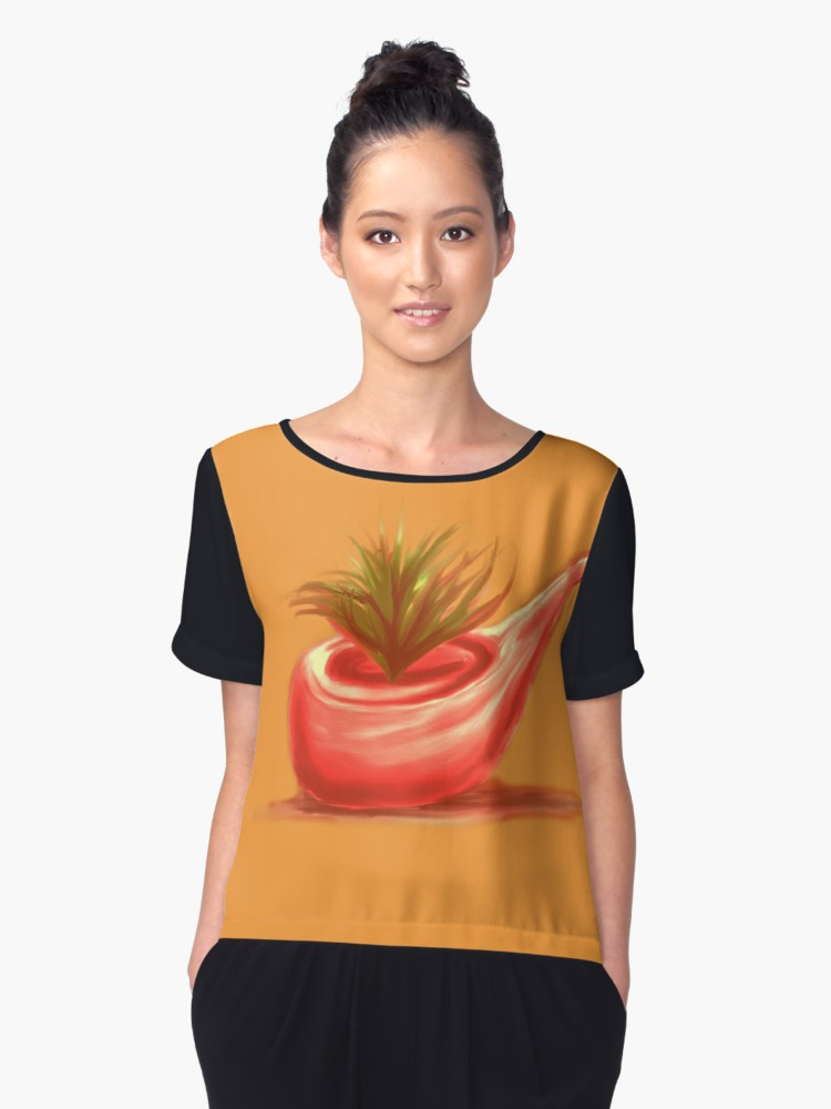 Blusas «Pipe 2 painting» de angeldecuir | Redbubble