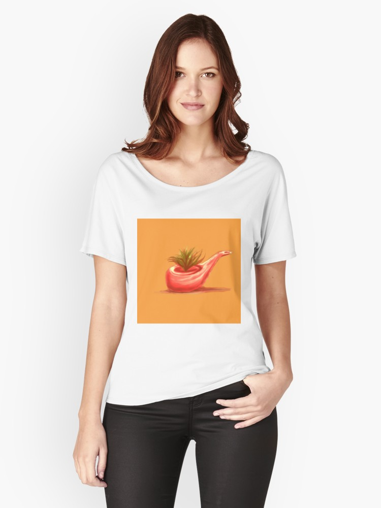 Camisetas anchas para mujer «Pipe 2 painting» de angeldecuir | Redbubble