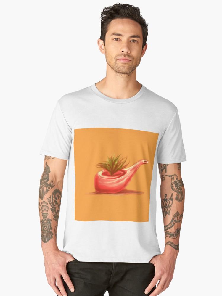 Camisetas premium para hombre «Pipe 2 painting» de angeldecuir | Redbubble