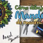 Cómo dibujar un mandala de manera fácil