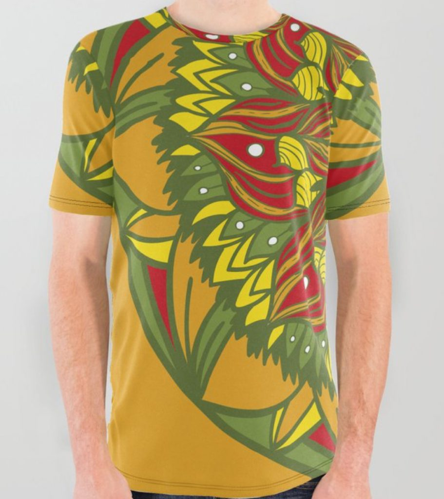 Summer mandala 4 All Over Graphic Tee by angeldecuir | Society6