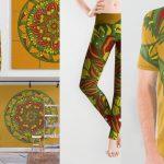 Summer mandala 4 para society6 - art prints