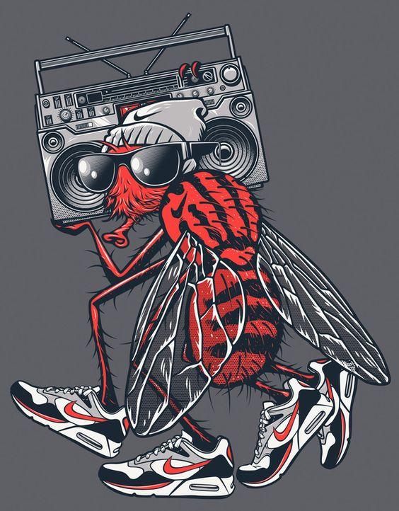 Rubens Scarelli - Nike ilustraciones creativas