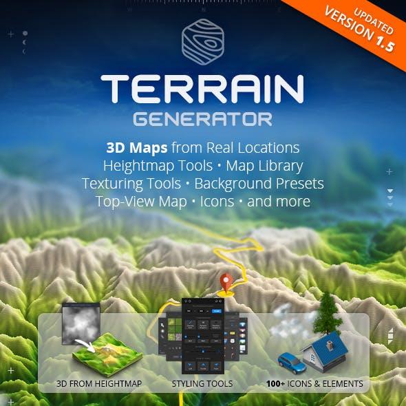 3D Map Generator - Terrain from Heightmap by Orange_Box in Utilities