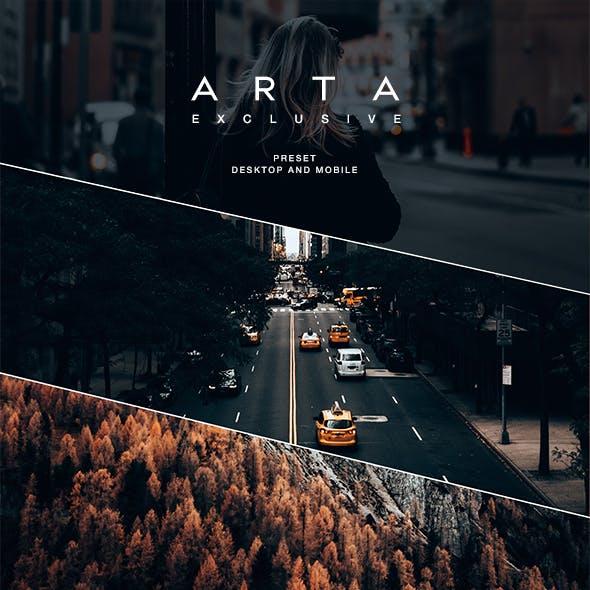 ARTA Exclusive Preset For Mobile and Desktop Lightroom by artapresets in Lightroom Presets