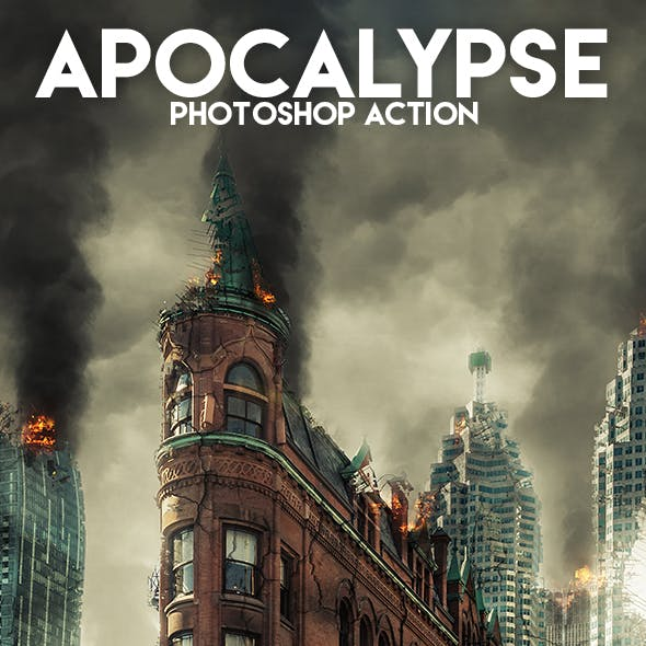 Apocalypse Photoshop Action by Eugene-design in Photo Effects