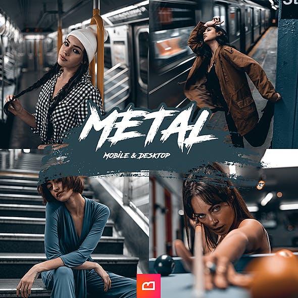 Artistic Collection - Metal Lightroom Preset (Mobile & Desktop) by 1bereta in Portrait