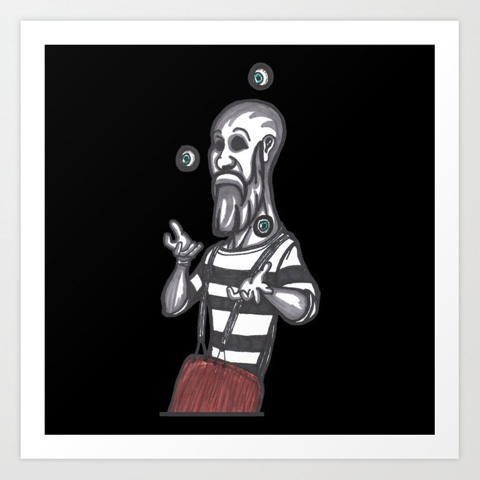 mime juggling society6