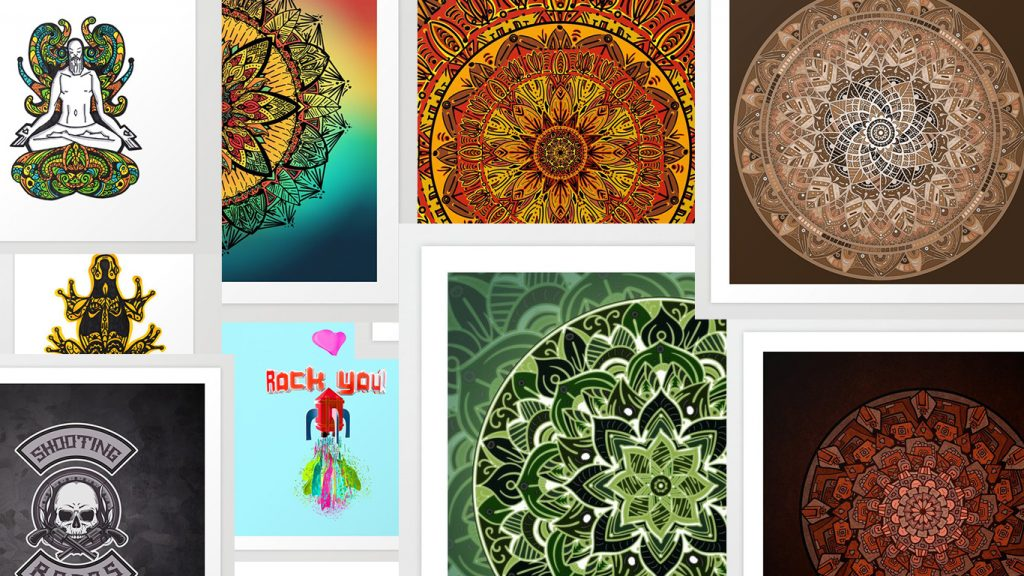Mis 10 últimas obras de art prints en society6