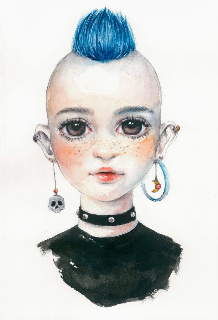 Oksana Dimitrenko - rock-child