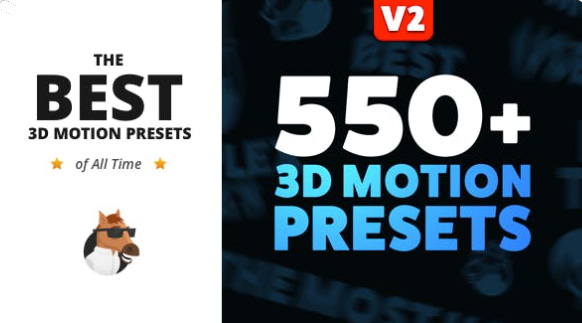3D Motion Presets for Animation Composer  by MisterHorse