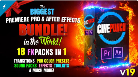 16 geniales After Effects presets de Videohive