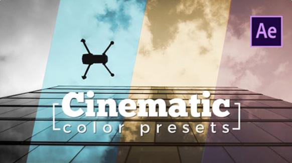 Cinematic Color Presets  by videologio