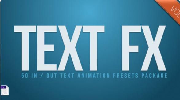 Text Fx Vol.1  by Darkpulse