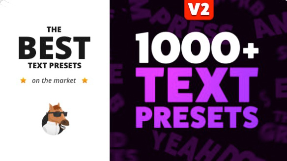 Text Preset Pack for Animation Composer  by MisterHorse