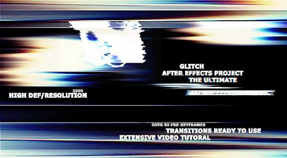 The Ultimate Glitch + 70 Transitions Presets Pack  by xFxDesigns