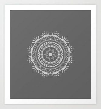 Nuevo Mandala Light Mx para society6 Art prints