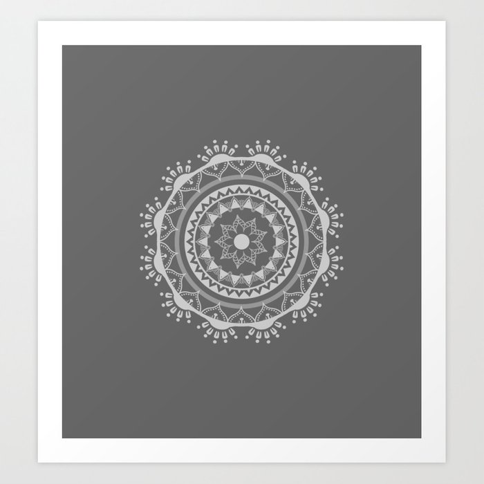 Nuevo Mandala Light Mx para society6 Art prints