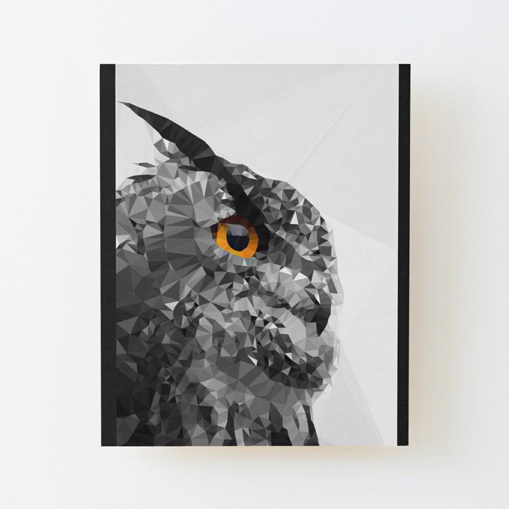 Lowpoly Owl para Redbubble