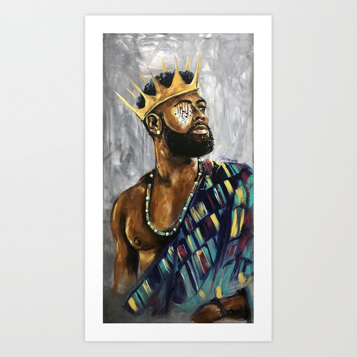Naturally King III Art Print
