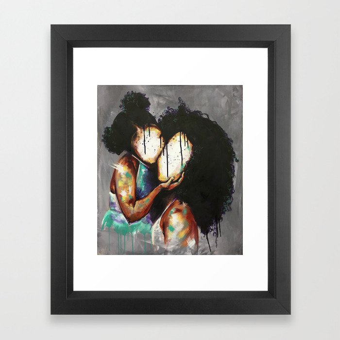Naturally Maya Framed Art Print