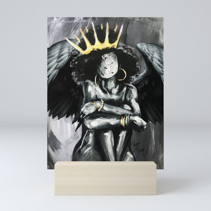Naturally Queen IX ANGEL Mini Art Print
