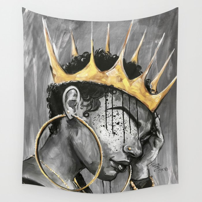 Naturally Queen X Wall Tapestry