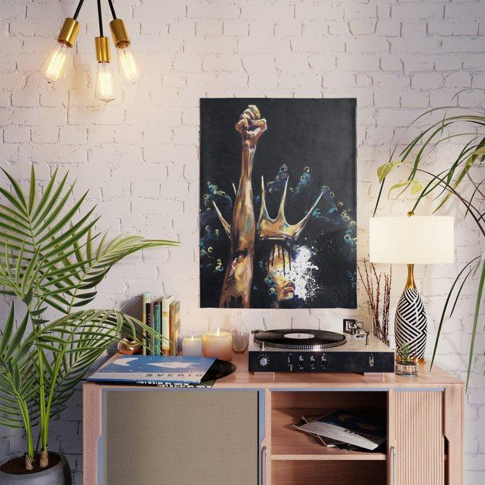 NaturallyQueenV Poster Arte conceptual - society6 - print shop