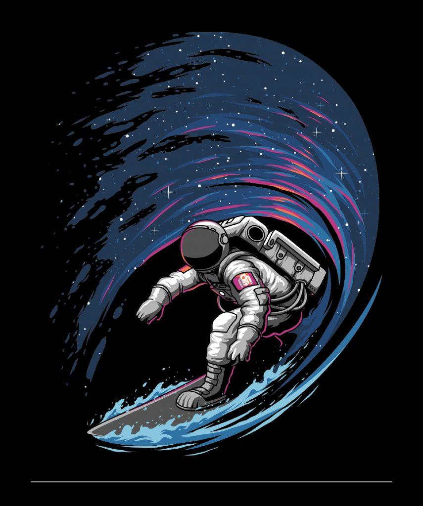 SPACE SURFER - Angga Tantama - obras artísticas